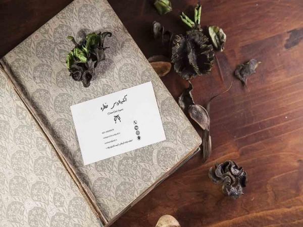 کارت ویزیت لایه باز خدمات عروسی